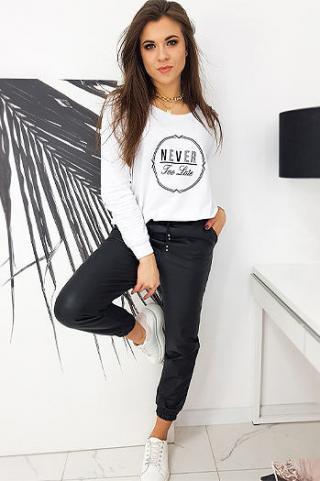 NEVER womens oversize sweatshirt white BY0634 dámské Neurčeno One size