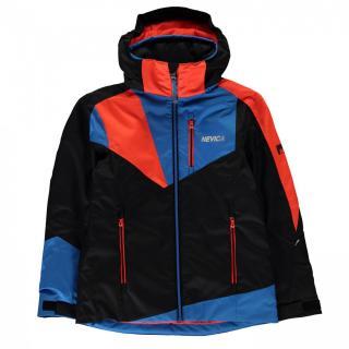 Nevica Vali Ski Jacket Junior Boys pánské Black 9-10 Y