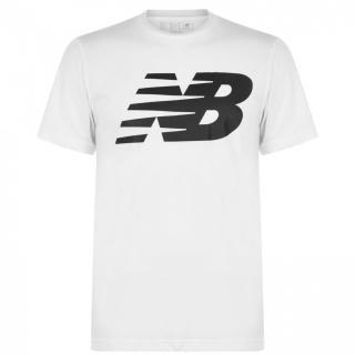 New Balance Logo Graphic QT T Shirt Mens pánské Other S