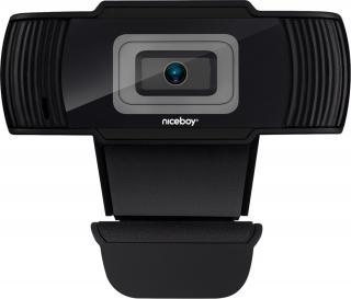 Niceboy STREAM Webkamera Černá Black