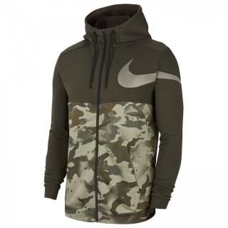 Nike Dri-FIT Mens Full-Zip Camo Training Hoodie pánské Other M