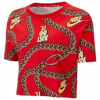 Nike Dunk Crop T Shirt Ladies dámské Other XS
