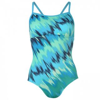 Nike Immis One Piece Swimsuit dámsky dámské Other | Lt Blue Fury L