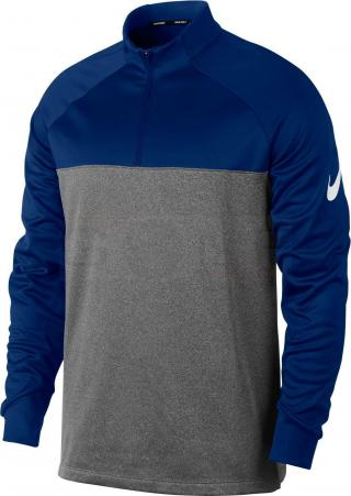 Nike Mens Therma Top Hz Core University Blue/Dark Grey/Htr/White XL pánské XL