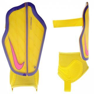 Nike Protegga Shinguards Junior Yellow Small Boys