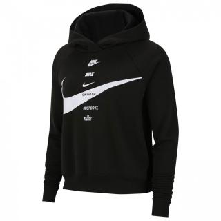 Nike Sportswear Swoosh Womens Brushed-Back Fleece Hoodie dámské Other XS