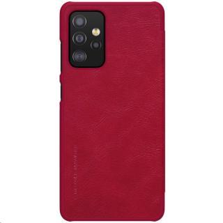Nillkin Qin Book flipové pouzdro pro Samsung Galaxy A52, červená