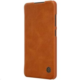 Nillkin Qin Book flipové pouzdro pro Samsung Galaxy A52, hnědá