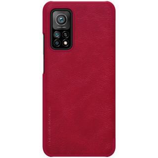 Nillkin Qin Book flipové pouzdro pro Xiaomi Mi 10T/10T Pro, červená