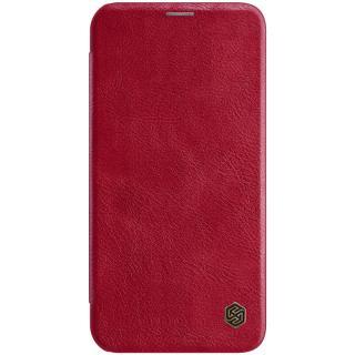 Nillkin Qin flipové pouzdro Apple iPhone 12 Pro / 12 Max red