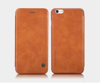 Nillkin Qin flipové pouzdro Apple iPhone XS Max, brown