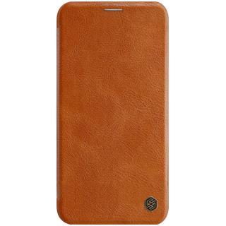 Nillkin Qin flipové pouzdro pro Apple iPhone 11, brown