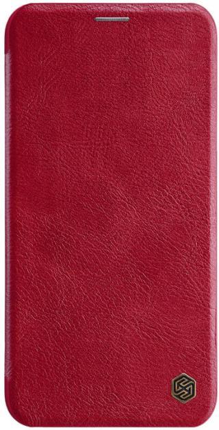 Nillkin Qin flipové pouzdro pro Samsung Galaxy S20 FE, červená