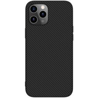 Nillkin Synthetic Fiber zadní kryt Apple iPhone 12 Pro Max black