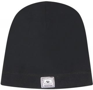 Nini chlapecká čepice z organické bavlny ABN-2556 černá 40 40