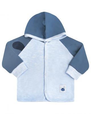NINI Chlapecký kabátek s podšívkou, světle modrá, vel. 62