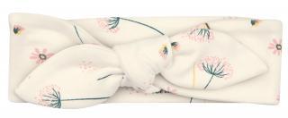 Nini dívčí čelenka z organické bavlny ABN-2291 40 smetanová 40