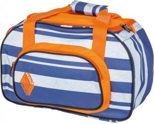 Nitro Duffle bag XS Heather stripe modrá