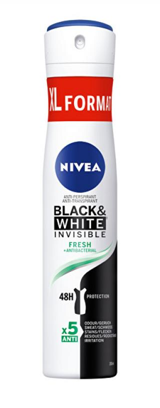 Nivea Antiperspirant ve spreji Black & White Invisible Fresh  200 ml