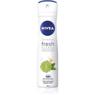 Nivea Fresh Citrus antiperspirant ve spreji 48h 150 ml dámské 150 ml