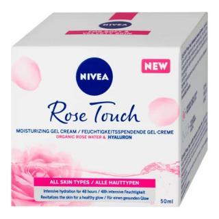 Nivea Hydratační denní gel-krém Rose Touch  50 ml dámské