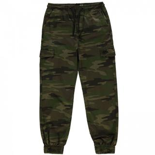 No Fear All Over Camo Print Trousers dětské Boys pánské Green | Other S