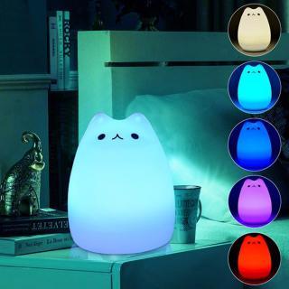 Noční LED světlo - Kotě