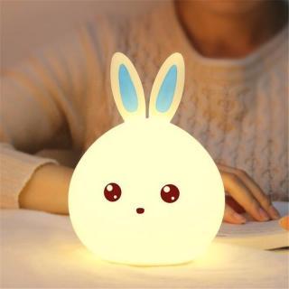 Noční LED světlo - Králík - 2 barevné varianty Barva: modrá