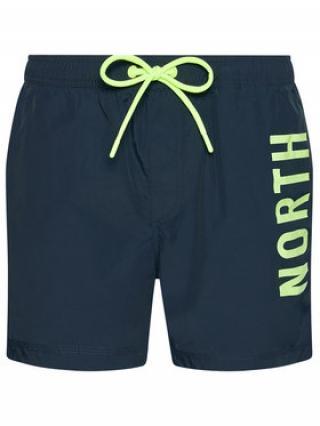 North Sails Plavecké šortky Volley 673434 Tmavomodrá Regular Fit pánské 36