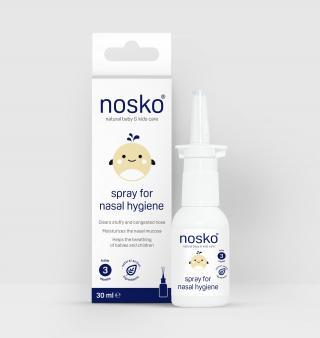 NOSÁTKO Sprej Nosko - izotonický roztok mořské vody 30 ml