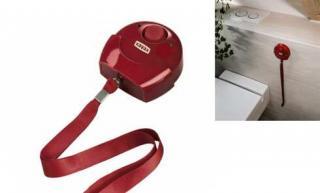Nouzový alarm červený