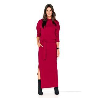 Numinou Womans Dress Nu134 Maroon dámské Red 36
