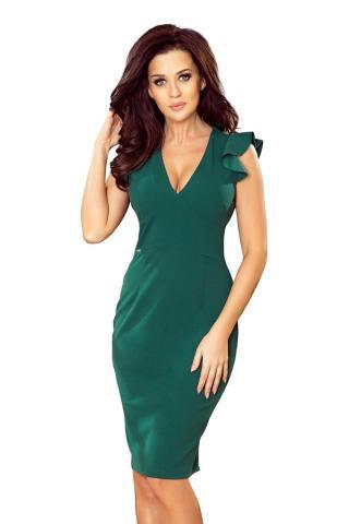 NUMOCO Womans Dress 227-1 dámské Bottle Green S