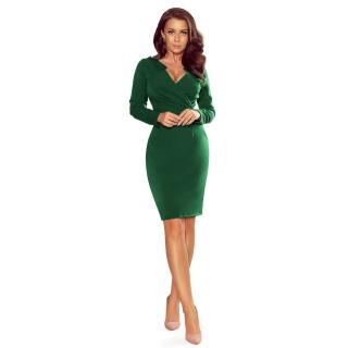 NUMOCO Womans Dress 272-3 dámské Bottle Green M