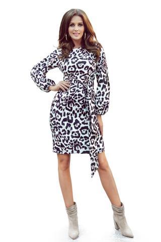 NUMOCO Womans Dress 275-3 Panther dámské wzorzysty XS