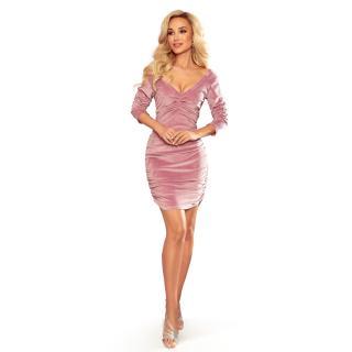 NUMOCO Womans Dress 345-1 dámské Pink S
