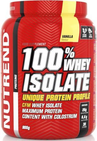NUTREND 100 % Whey Isolate 900g Vanilka pánské