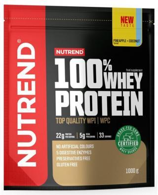 NUTREND 100% Whey Protein 1000 g Ananas/Kokos pánské