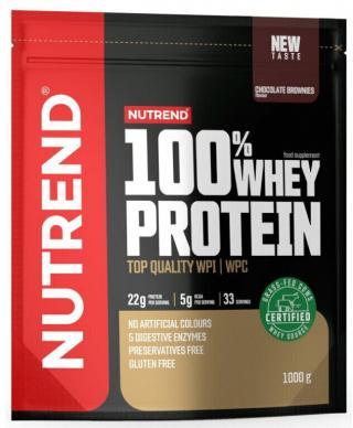 NUTREND 100% Whey Protein 1000 g Chocolate Brownies pánské