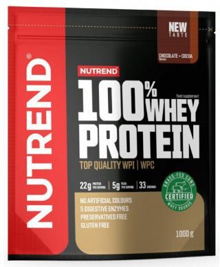 NUTREND 100% Whey Protein 1000 g Chocolate/Cacao pánské