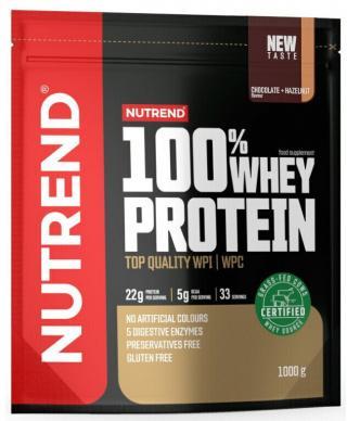 NUTREND 100% Whey Protein 1000 g Chocolate/Hazelnut pánské