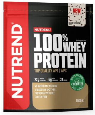 NUTREND 100% Whey Protein 1000 g Cookies Cream pánské