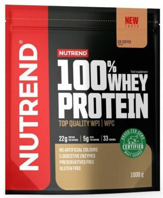 NUTREND 100% Whey Protein 1000 g Ice Coffee pánské