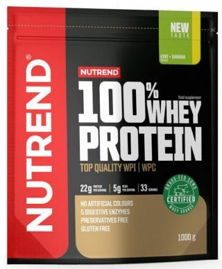 NUTREND 100% Whey Protein 1000 g Kiwi/Banana pánské