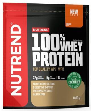 NUTREND 100% Whey Protein 1000 g Orange pánské