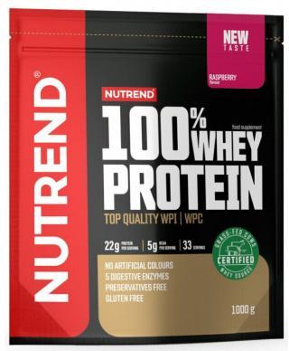 NUTREND 100% Whey Protein 1000 g Raspberry pánské
