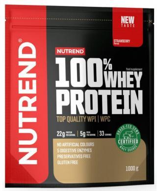 NUTREND 100% Whey Protein 1000 g Strawberries pánské