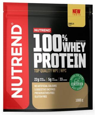NUTREND 100% Whey Protein 1000 g Vanilla pánské