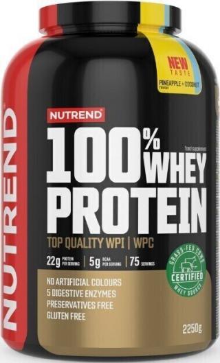 NUTREND 100% Whey Protein 2250 g Pineapple Coconut pánské
