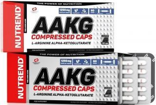 NUTREND Aakg Compressed Caps 120 kapslí pánské